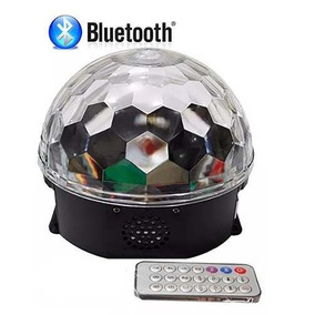 Kit 20un. Caixa De Som Bola Maluca Bluetooth Globo De Luz