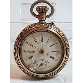 29ee8d8c300 Relogio De Bolso Omega Ferradura De Ouro - Relógios no Mercado Livre ...