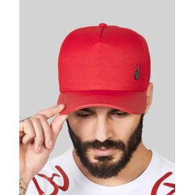 5bfb468a31 Bone Buh Vermelho - Acessórios da Moda no Mercado Livre Brasil