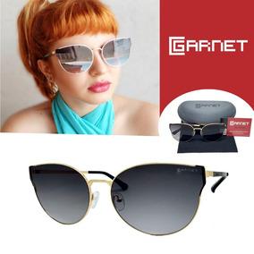 Óculos De Sol Lente Uva Flat Fashion Metal Dourado Degradê 895d2c1f7b