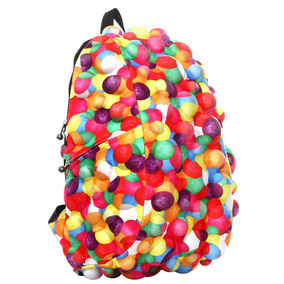 Mochila 3d Burbujas Relieve Backpack Laptop Madpax Gumball