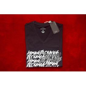 5ac6cd403d1d7 Camiseta Y Camibuso Negro S  Armani Exchange - Ropa y Accesorios en ...