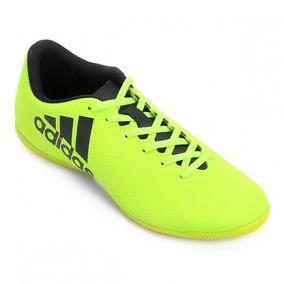 e112fa839c Chuteira Futsal Adidas Adizero F50 Verde Limão Adultos - Chuteiras ...