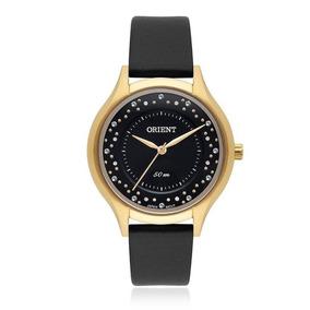 Relógio Orient Feminino Pul. Couro Fgsc0014 + Frete Grátis
