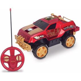 Carrinho Controle Pick Up Homem Ferro Brinquedos Mimo 3200