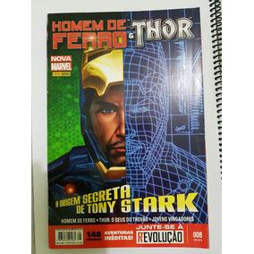 Homen De Ferro E Thor N° 8 - A Origem Secreta De Tony Stark