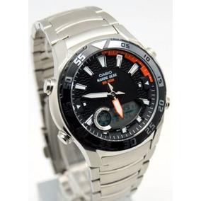 15c3c3265cf Relógio Casio Amw 710 D Manual + Lata - Relógios De Pulso no Mercado ...