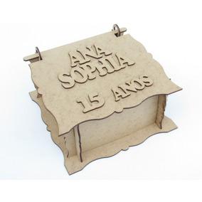 50 Caixas Personalizadas Em Mdf Cru Lembrancinha Aniversário