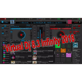 Virtual Dj Pro 8.3 Ou 8.2 Crakiador 2018 Com Envio Gratis