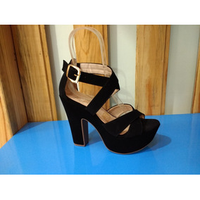 d381784d Sandalias De Plataforma A La Moda - Zapatos Mujer en Mercado Libre ...