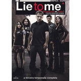 Lie To Me - Engana-me Se Puder - 3ª Temporada - Box 4 Dvds