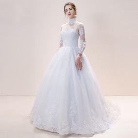 de5bc57dd Vestido Longo Evangelico - Vestidos De Noivas Longos Femininas no ...