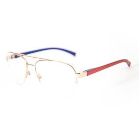 Armacao Oculos Grau Feminino Meio Aro De - Óculos no Mercado Livre ... 6e202cd3e2
