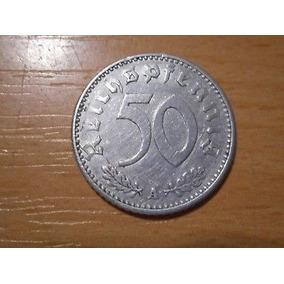 50 Reichspfennig 1941a - C/ Suástica - Alemanha