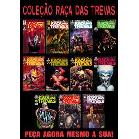 Coleção Revistas Em Quadrinhos Raça Das Trevas