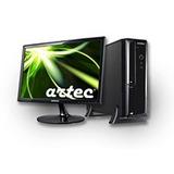 Pc Slim I5 3330 500gb 4gb Win7pro Monitor 19 Con Garantia