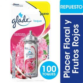 Glade Toque Placer Floral Y Frut. Rojos Rto.