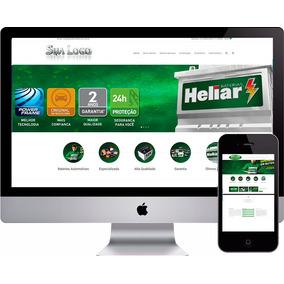 Site Para Empresa De Baterias Distribuidores Revendas
