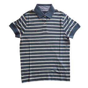 Camisa Polo Tommy Hilfiger Slim Fit Masculina Original