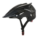 Capacete Ciclismo Mtb Bike Mold Lixada Black 56 A 62cm