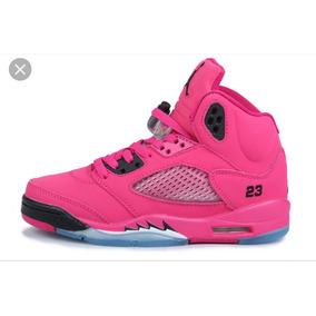 the latest 9556a 65852 Zapatos Jordan Rosados Retro - Zapatos Nike de Mujer en Mercado ...