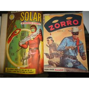 Zorro 2ª Série N° 52 Ao 70 Ebal 1966 Estado De Banca Encader