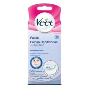 Cera Fria Facial Veet Peles Delicadas - Cor Incolor