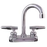 Mezcladora P/lavabo 4in Cubierta, Manerales Cromo 4051