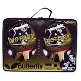 Kit 4 Raquetes Tênis De Mesa Butterfly Victory + 8 Bolinhas