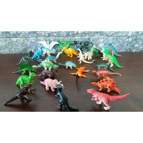 Lote De Miniaturas De Dinossauros