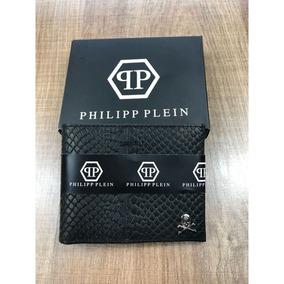 61a38a0efc800 Carteira Masculina Phillip Plein Preto A Pronta Entrega. R  139