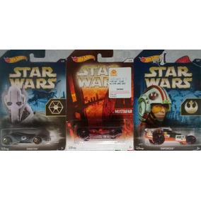 Lote Hot Wheels - Star Wars - Enforcer, Sinistra, Mustafar
