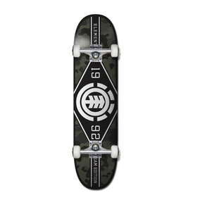 Tabla De Skate Element Completa Bark Camo 8 - Colgqbrk