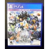 World Of Final Fantasy Ps4* Play Magic