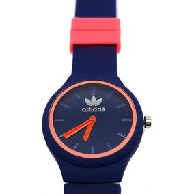 6fb3fd575aa Relogio Adidas Laranja De Borracha - Relógios De Pulso no Mercado ...