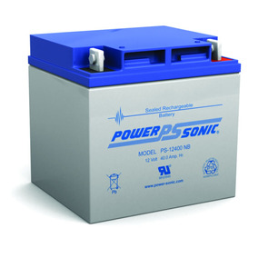Bateria Power Sonic Ps-12400 12 Voltios Battery Master
