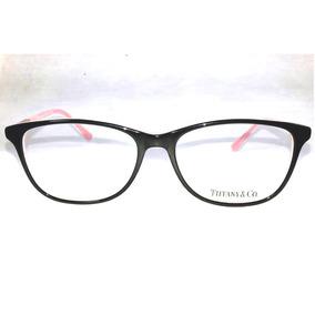 52578422fa9a7 Armação Tiffany Rosa E Preto - Óculos no Mercado Livre Brasil