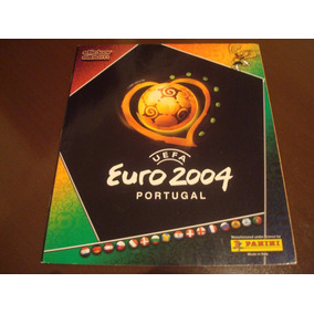 Album Euro 2004 Original Completo Panini Colar Figurinhas
