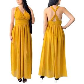 fd53714b3 Vestido Fiesta Amarillo - Vestidos de Mujer Amarillo en Jalisco en ...