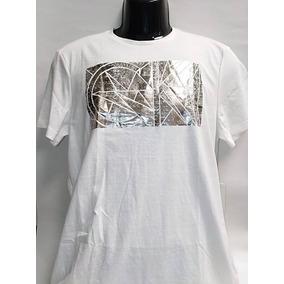 5fee2ce5bb385 Polera Calvin Klein Hombre Blanca - Poleras Hombre en Mercado Libre ...