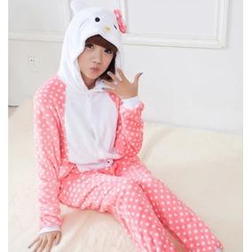 Pijama Kigurumi Kitty Mujer Y Niña + Envío Gratis