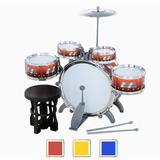 Batería Musical Niños 5 Tambores Diversos Colores Bakanisimo