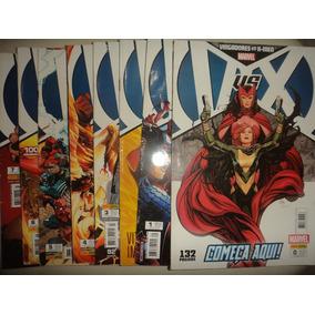 Vingadores Vs X Men 0 A 7 Panini 2013 Frete Gratis Excelente