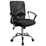 Cadeira Executiva Tela Mesh Preta Cde-12-1 Trevalla