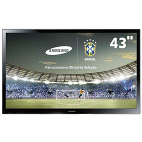 Tv Plasma 43 Samsung Pl43f4000 Conversor Hdmi - Sem Base