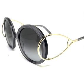 a805bef4a Oculos De Sol Redondo Jackson Grande Chloe Fake - Óculos no Mercado ...