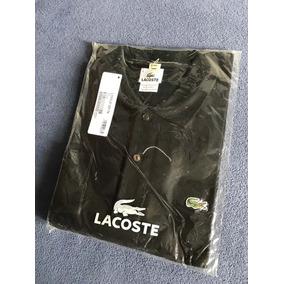 Camiseta Manga Longa Lacoste - Camisetas e Blusas no Mercado Livre ... 4ceac53871