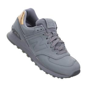 zapatillas new balance gris mujer
