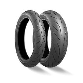 Kit Pneu Bridgestone S21 120/70 R17 58w & 190/50 R17 73w