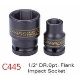 Soquete De Impacto Pard Sextavado Curto 1/2 14mm C44514 *